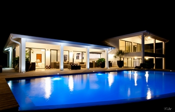 location-Villa-Ocean's-House-Martinique de nuit-LVF-356