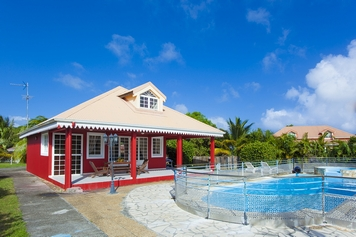 villa cerise martinique saint anne location